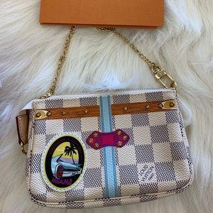 Authentic LV Pochette Accessories mini DA Miami